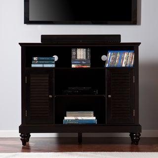 Upton Home Louvered-Door TV/ Media Cabinet