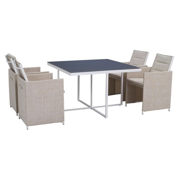 Sea Bass Dining Set Beige
