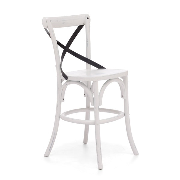 Union Square Counter Chair Antique White