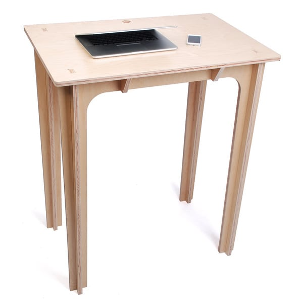 Natural 42-inch Standing Desk (As Is Item)