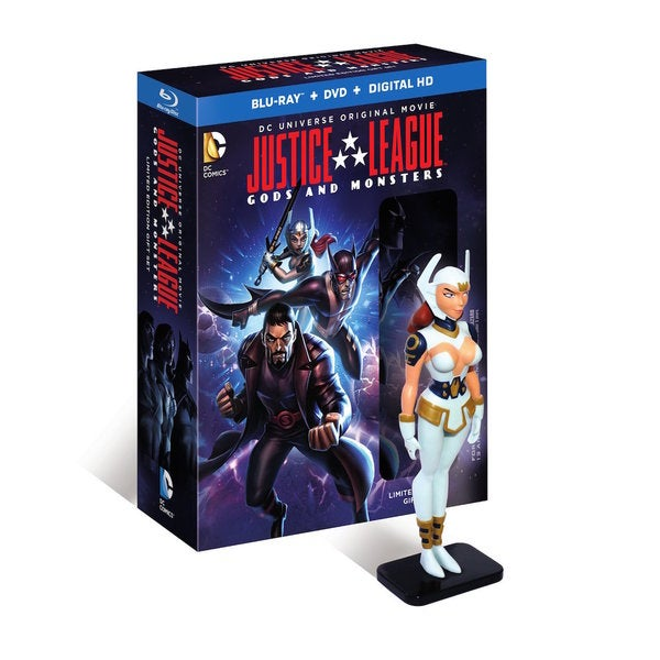 Justice League: Gods & Monsters with Figure (Blu-ray/DVD) 15371108