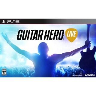 PS3 - Guitar Hero Live Bundle