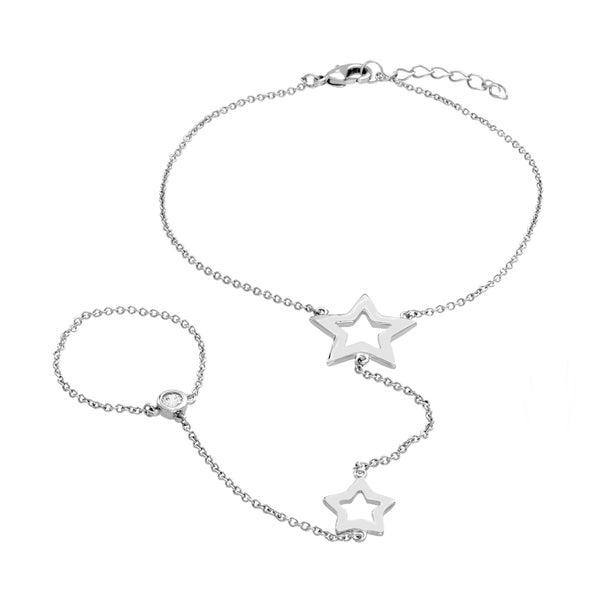 Sterling Essentials Sterling Silver Star Bracelet