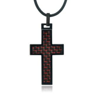 Vance Co. Tungsten Cross Pendant