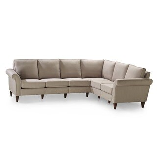 Pippa Bisque Three Corner Two Sectional Sofa