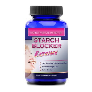 Totally Products Starch Blocker Extreme 1000mg White Kidney Bean (120 Capsules)