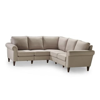 Aver Bisque 2-corner 2-sectional