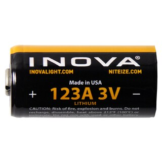 Inova, CR123, batteries, 6 Pack