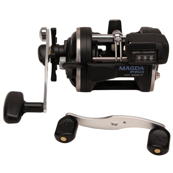Magda Line Counter Reel 2 BB 5.1:1 Sz 20 Left hand