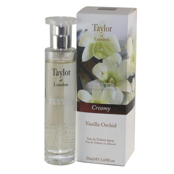 Taylor of London Taylor of London Vanilla Orchid Women's 1.69-ounce Eau de Toilette Spray