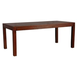 Edgewood Brown Rectangle Dining Table