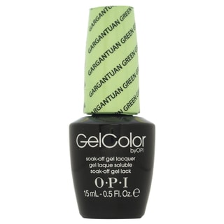 OPI GelColor Gargantuan Green Grape Soak-off Gel Lacquer