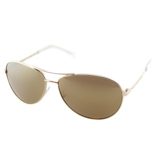 Marc by Marc Jacobs Unisex MMJ 343 000 Rose Gold Metal Aviator Sunglasses