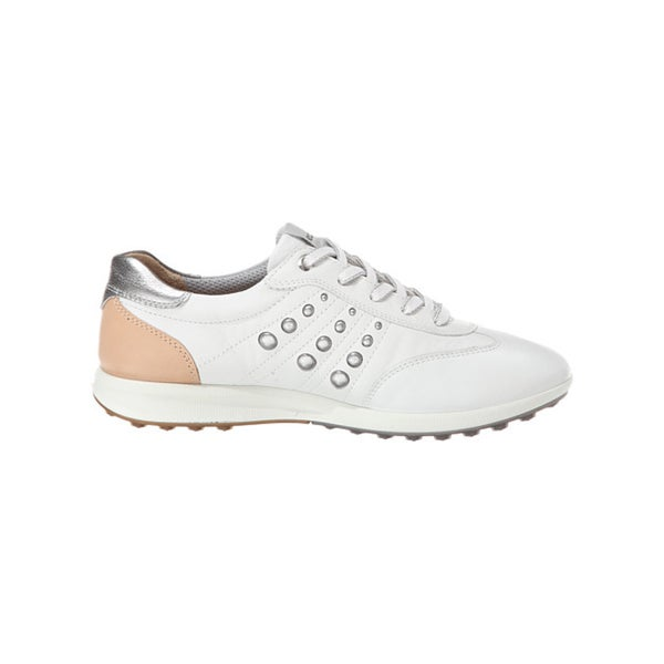ECCO Womens Golf Street EVO One Sport Spikeless White/Mineral