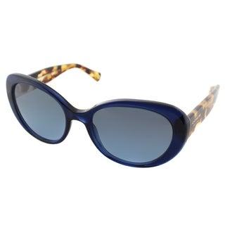 Coach Women's HC 8049 Alexa 511017 Navy/ Tortoise Plastic Cat-eye Sunglasses