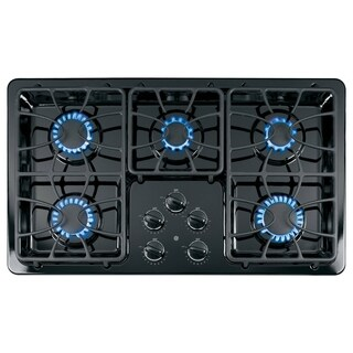 GE 36 inch Gas Cooktop