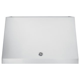 GE Café 30 Inch Wall Mount Range Hood with 600 CFM Blower