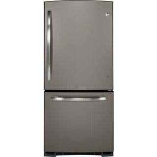 GE Slate 20.3 Cubic Feet Bottom Freezer Refrigerator