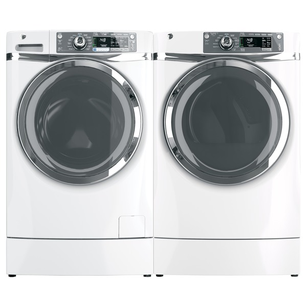 GE 4.8 Cubic Feet. High Effiency Front Load Laundry Pair