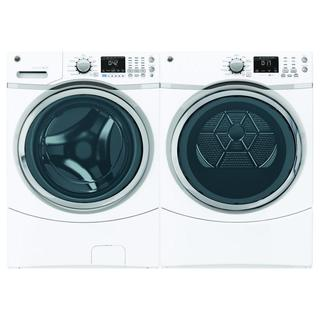 GE 4.3 Cubic Feet Front Load Washer and Dryer Pair