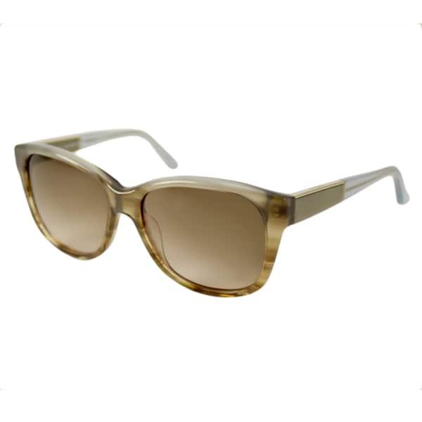 Calvin Klein Women's CK7899S Blue Rectangular Sunglasses