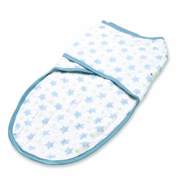 aden + anais Prince Charming Bigger Star Classic Easy Swaddle (Small)