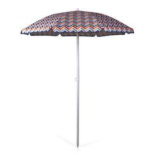 Vibe Collection Picnic Time Portable Beach/Picnic Umbrella
