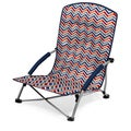 Vibe Collection Picnic Time Tranquility Chair Portable Beach Chair