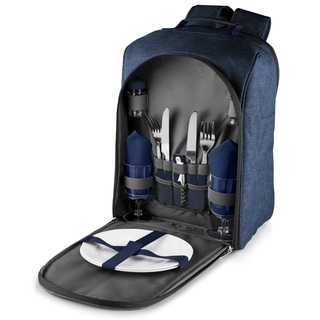 Picnic Time Navy Colorado Picnic Backpack