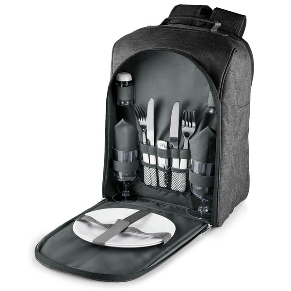 Picnic Time Grey Colorado Picnic Backpack