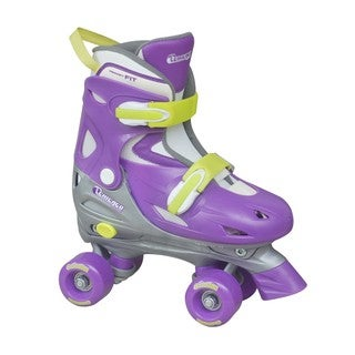 Chicago Girls Purple/ Yellow Adjustable Roller Skate