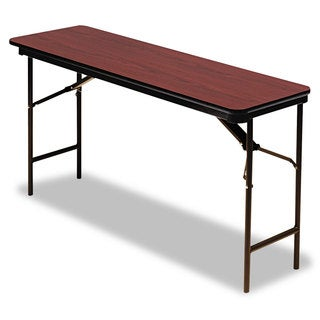 Iceberg Premium Mahogany Wood Laminate Folding Table