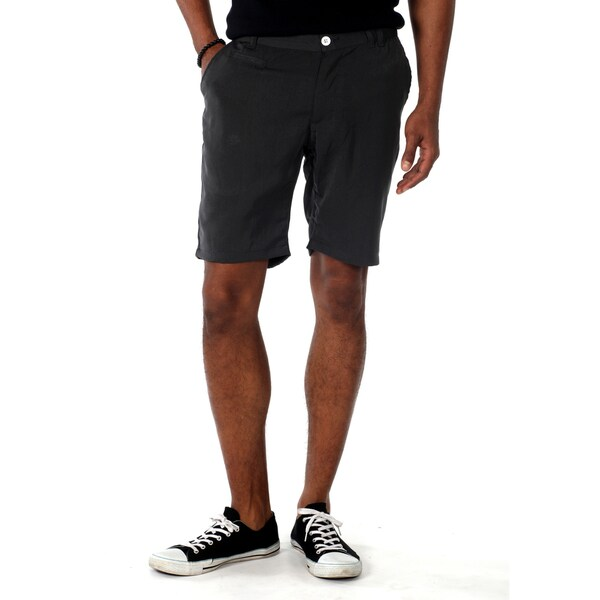 Something Strong Men's 'Something Northfork' Shorts in Charcoal