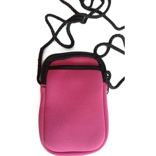Luggage Spotter Pami Pocket Pink Crossbody Neoprene Crossbody Smartphone Purse