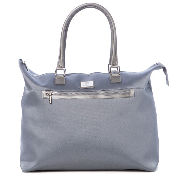 Anne Klein Light Blue Tampa Travel Tote