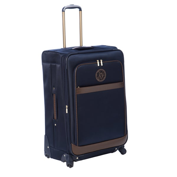 Anne Klein Navy Newport 28-inch Expandable Spinner Upright Suitcase