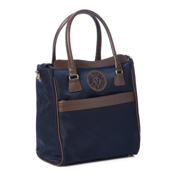 Anne Klein Navy Newport Travel Tote Bag