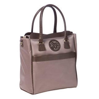 Anne Klein Taupe Newport Travel Tote Bag