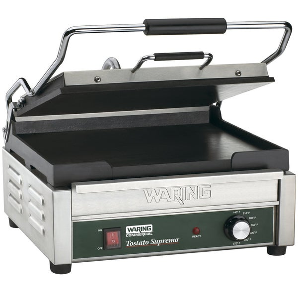 Waring Commercial WFG250 120-Volt Italian-Style Flat Grill, Large (Refurbished)
