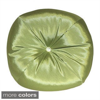 Taffeta Apple Round Decorative Pillow