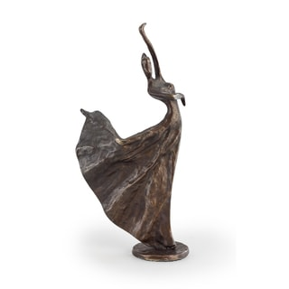 Graceful Ballerina Bronze Sculpture