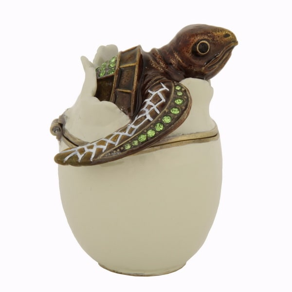 Turtle Hatchling Trinket Box