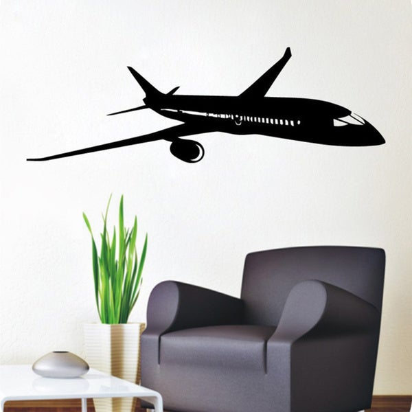 Plane Boeing Aircraft Vinyl Sticker Wall Art