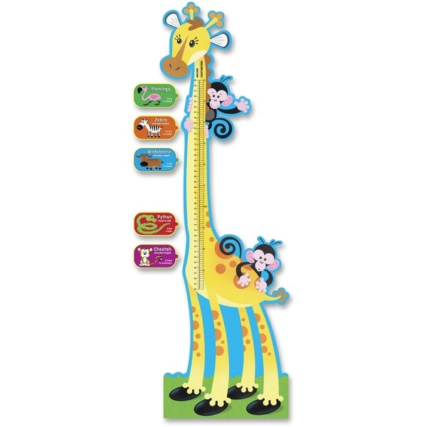 TREND Giraffe Growth Chart Bulletin Board Set