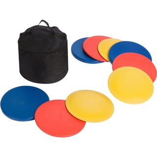 Disc Golf Set with Bag (Set of 9 Discs)