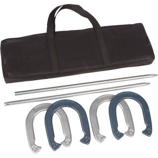 Trademark Innovations Powder Coated Steel Pro Horseshoe Set
