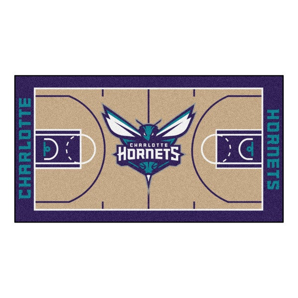 Fanmats Charlotte Bobcats Large Court Runner Rug 15375492
