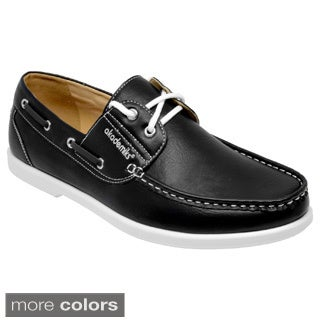 Akademiks Men's Lace-Up Boat Shoes