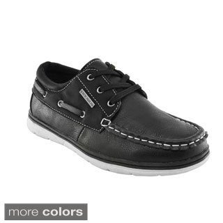 Rocawear Boys' Moc Toe Boat Shoes