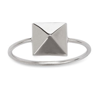 La Preciosa Sterling Silver Pyramid-style Ring